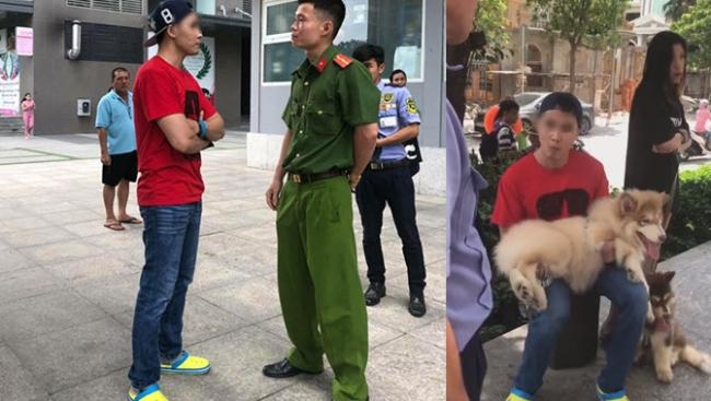 Dắt chó đi dạo bị nhắc nhở, thanh niên Việt kiều nói 'phạt 100 triệu không sao' 1
