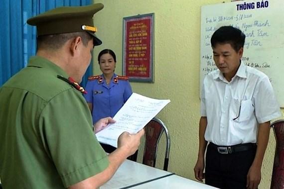 Kết thúc điều tra gian lận thi ở Sơn La: Đề nghị truy tố 8 bị can 1