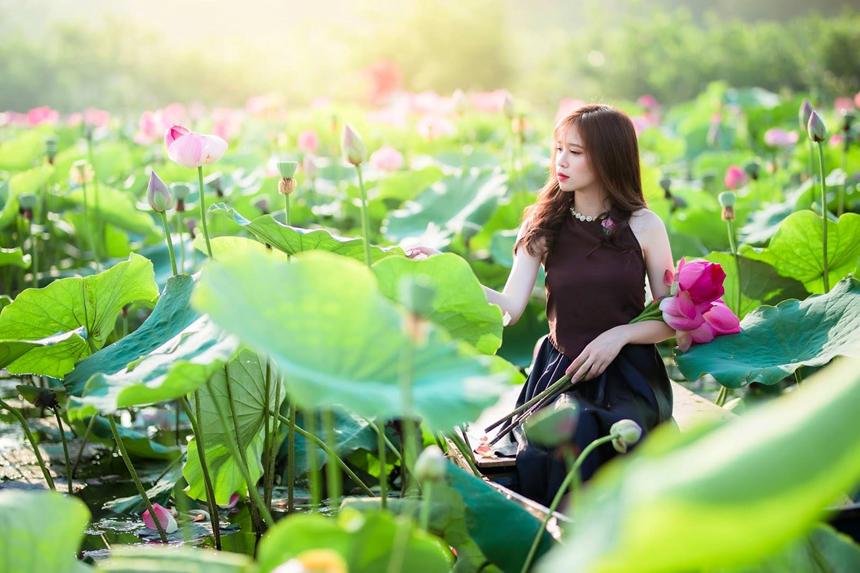 Một số địa điểm chụp sen hút khách mỗi dịp hè về ngay tại Hà Nội 2