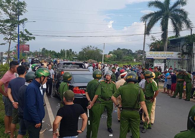 Vụ giang hồ vây xe công an ở Đồng Nai: Bắt thêm nghi phạm liên quan 2
