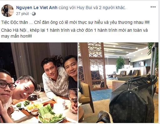 Việt Anh tổ chức tiệc độc thân, bà xã chính thức công khai làm mẹ đơn thân 2