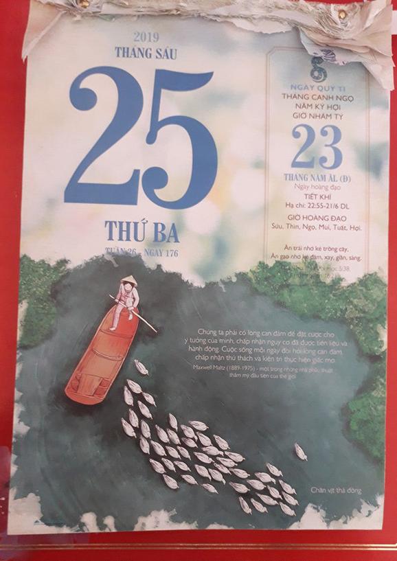 Tờ lịch 'tiên tri' trúng phóc đề thi Ngữ Văn THPT Quốc gia 2019 2