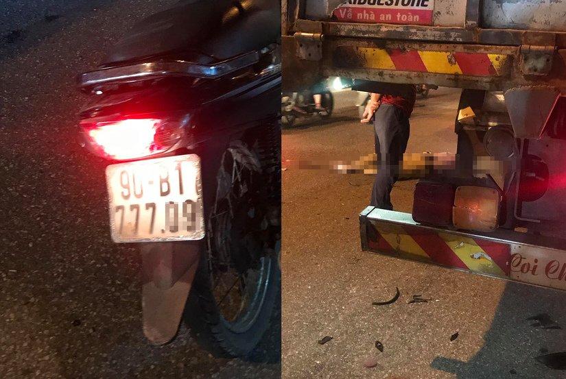 Tin tức tai nạn giao thông ngày 12/7: Tông vào đuôi container, thanh niên tử vong tại chỗ 1