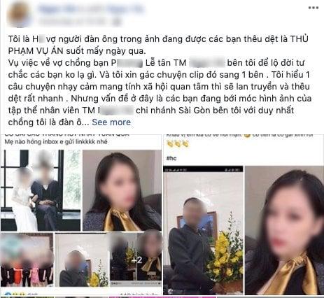 Thông tin mới vụ nữ lễ tân Spa lộ clip 'nóng 37s' ở cầu thang 4
