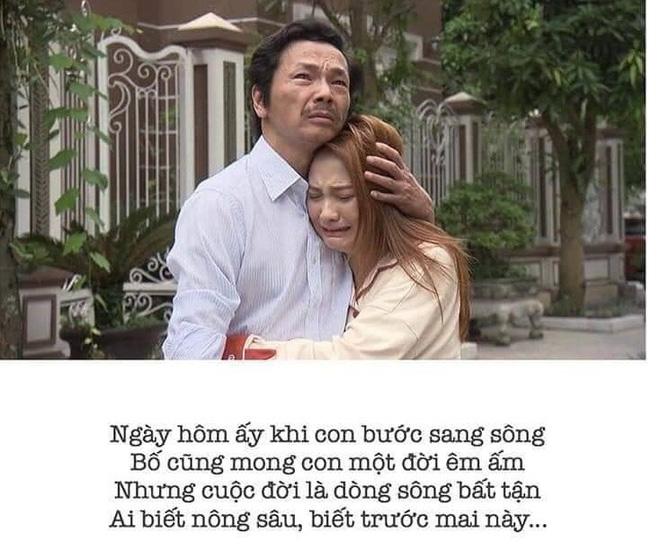 Phim Về nhà đi con: Cảnh bố Sơn sang nhà chồng đón Thư được phổ thành thơ gây xúc động 1