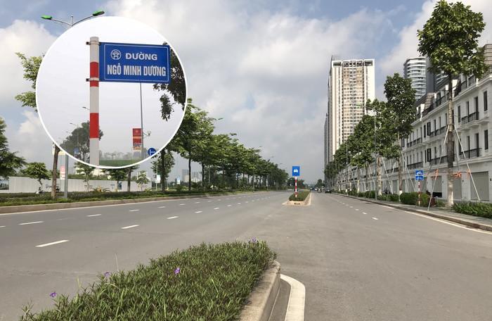 Hạ biển tên 'đường Ngô Minh Dương', đang xác định do ai dựng lên 1