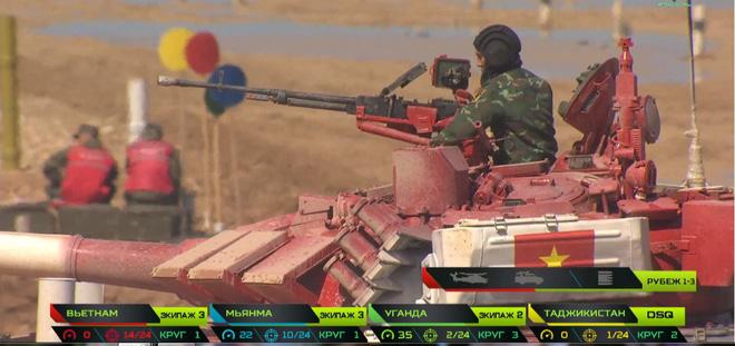 Việt Nam xuất sắc lập kỳ tích vào chung kết Tank Biathlon 2019 2