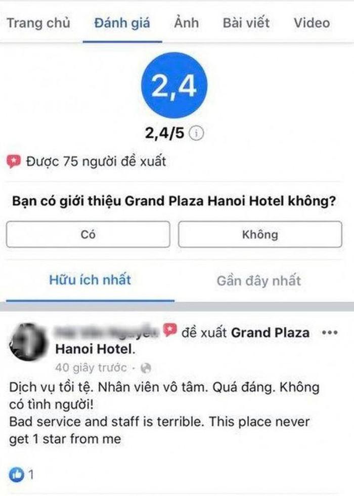 Vụ nhân viên bị tố đuổi người trú mưa gây bức xúc: Đại diện khách sạn dát vàng lên tiếng 1