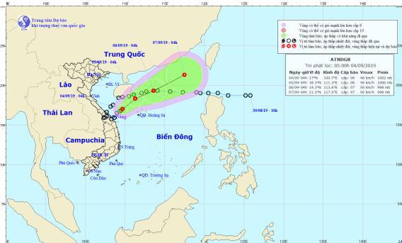 Áp thấp nhiệt đới kép cách đất liền 180km, diễn biến rất phức tạp 1