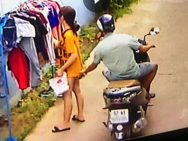 Danh tính kẻ biến thái phóng xe máy sàm sỡ cô gái đang phơi đồ 1