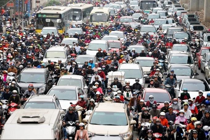 Hà Nội sẽ thu phí ôtô, tiến tới cấm xe máy nhằm đẩy mạnh vận tải công cộng 1