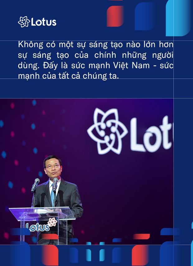 Bộ trưởng TT-TT: Lotus thành công hay không thành công phụ thuộc vào chúng ta 2