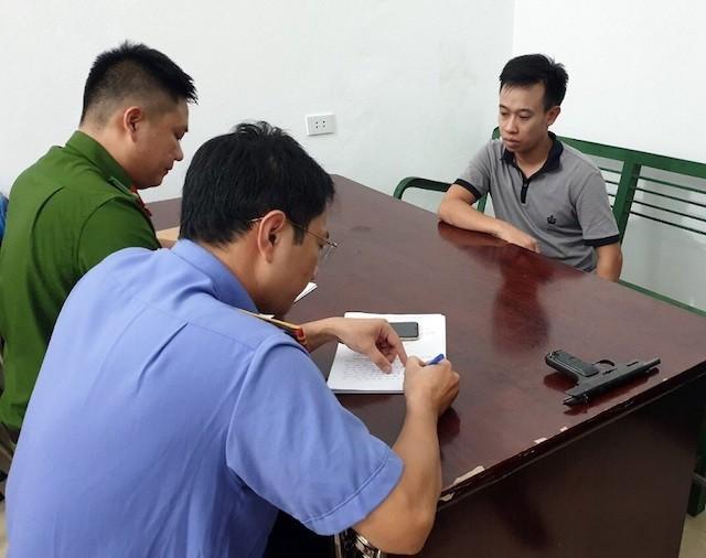 Kẻ cầm súng cướp tiệm vàng ở Quảng Ninh khai đi cướp vì thiếu tiền xây nhà 1