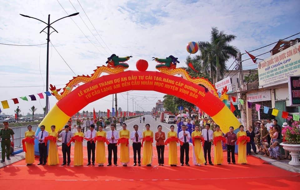 Khánh thành tuyến đường nông thôn hiện đại nhất Hải Phòng 1