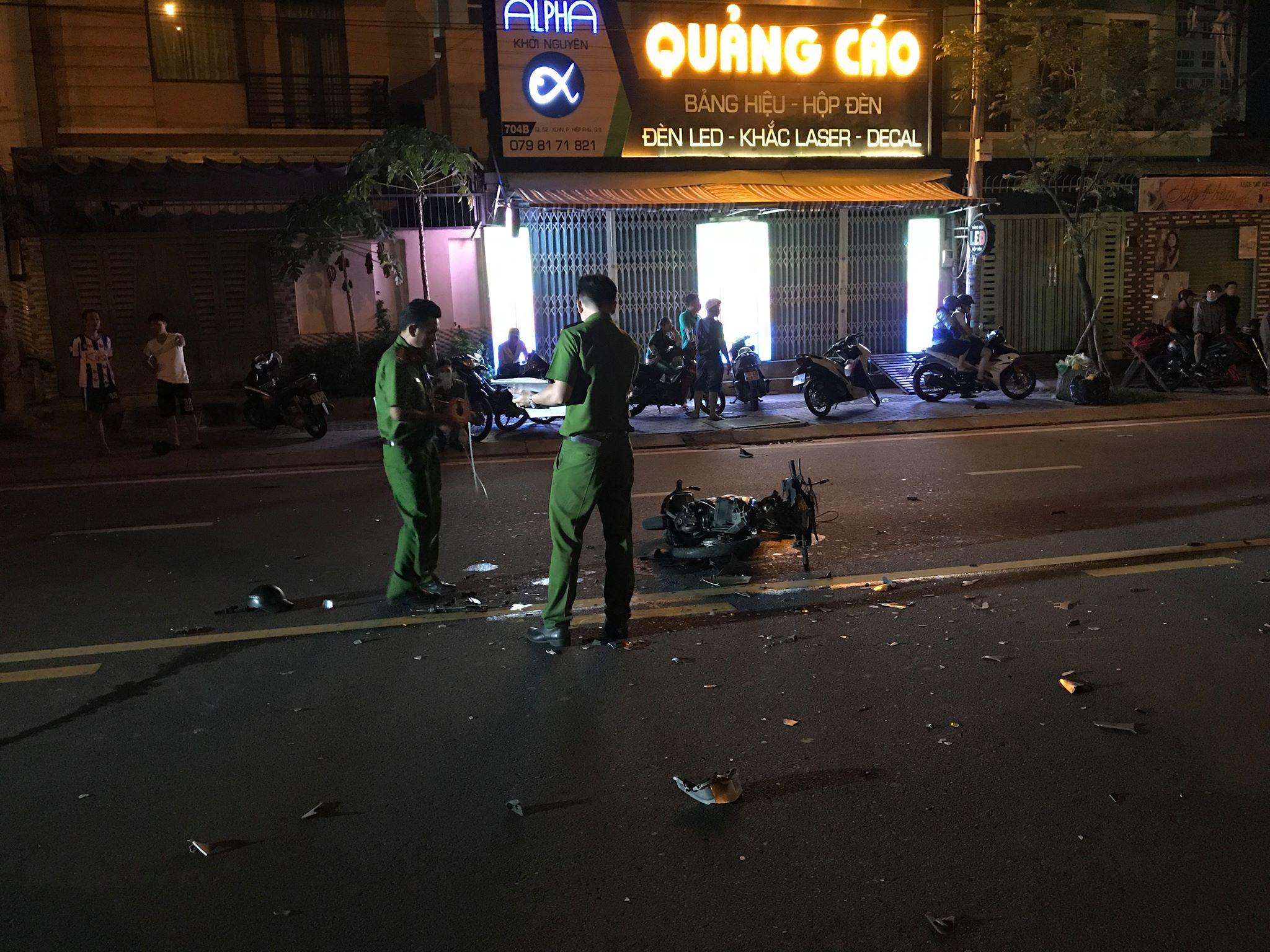 Hai xe máy tông trực diện đêm 20/10, nam thanh niên tử vong thương tâm 3