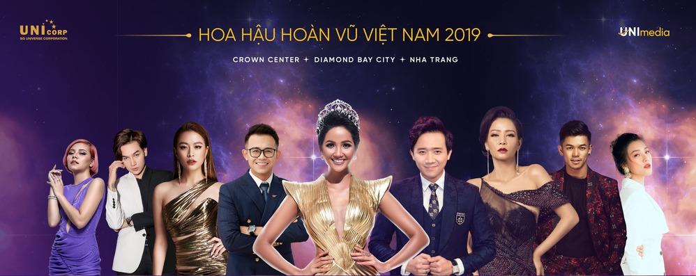 Dàn MC 'khủng' sẽ xuất hiện trong đêm Bán kết và Chung kết Hoa hậu Hoàn vũ Việt Nam 2019 1