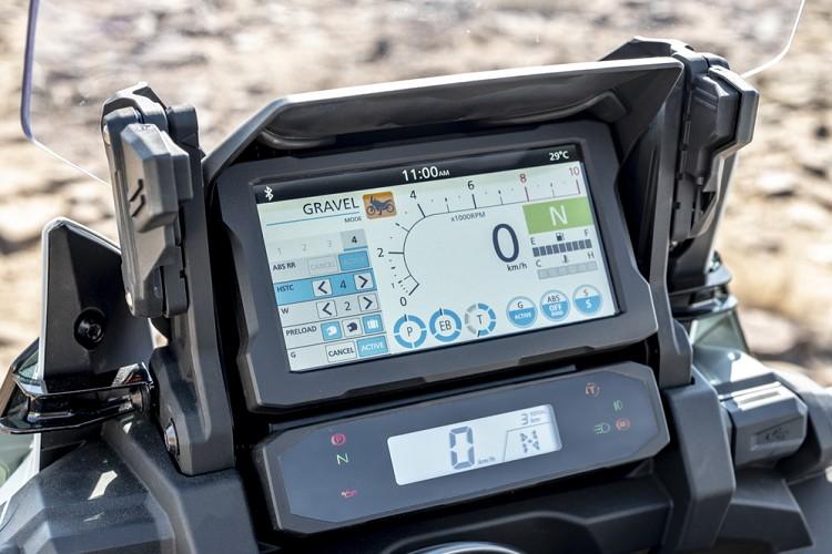 Môtô phượt hạng nặng Honda CRF1100L Africa Twin 2020 ra mắt 2 phiên bản 3