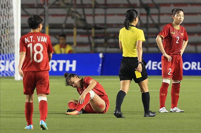 Chương Kiều không thể ngủ vì vết thương sưng tấy sau trận đấu quên mình 1