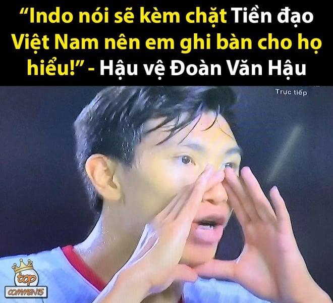 Loạt ảnh chế bùng nổ sau khi U22 Việt Nam 'đè bẹp' Indonesia để giành HCV 4