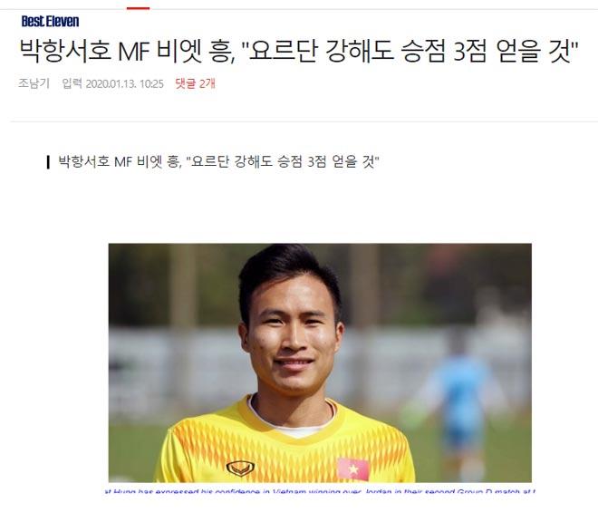 U23 Việt Nam vs U23 Jordan: Đây là lúc cần 'phép màu' của HLV Park Hang-seo 2