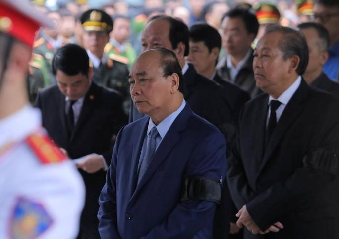 Bộ Công an tổ chức Lễ tang 3 liệt sĩ công an hy sinh tại xã Đồng Tâm 6