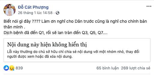 Ngô Thanh Vân, Cát Phượng vạ miệng vì đưa tin sai về virus Corona 3