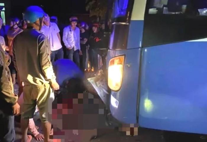 'Ma men' tông trực diện vào xe khách khiến 3 người thiệt mạng 1