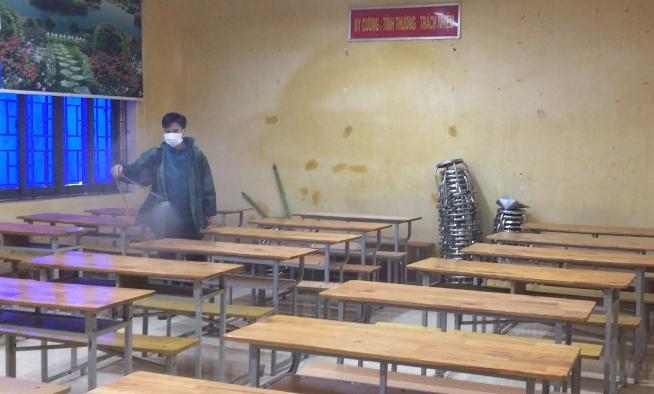 Nữ sinh lớp 10 nhiễm virus Corona ở Vĩnh Phúc đã tiếp xúc với bạn học 1