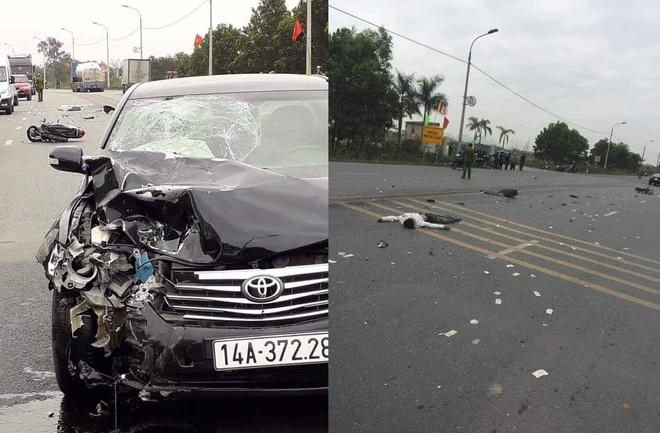 Tai nạn giao thông ngày 10/2: Xe máy đấu đầu ô tô khách, cả nhà 3 người tử vong 2