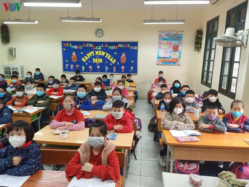 Dịch virus Corona: Hà Nội tiếp tục cho học sinh nghỉ học thêm 1 tuần 1