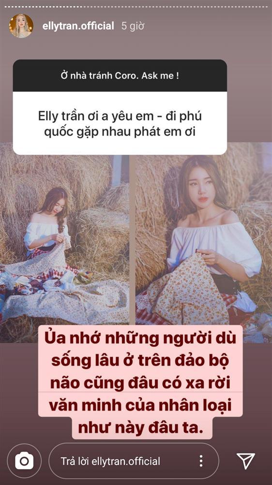 Elly Trần đáp trả cao tay khi bị người lạ mời chào đi du lịch mùa dịch 1