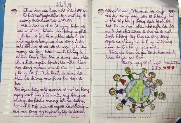 Dịch Covid-19: Món quà ấm lòng của học trò Hà Nội gửi Vĩnh Phúc 2