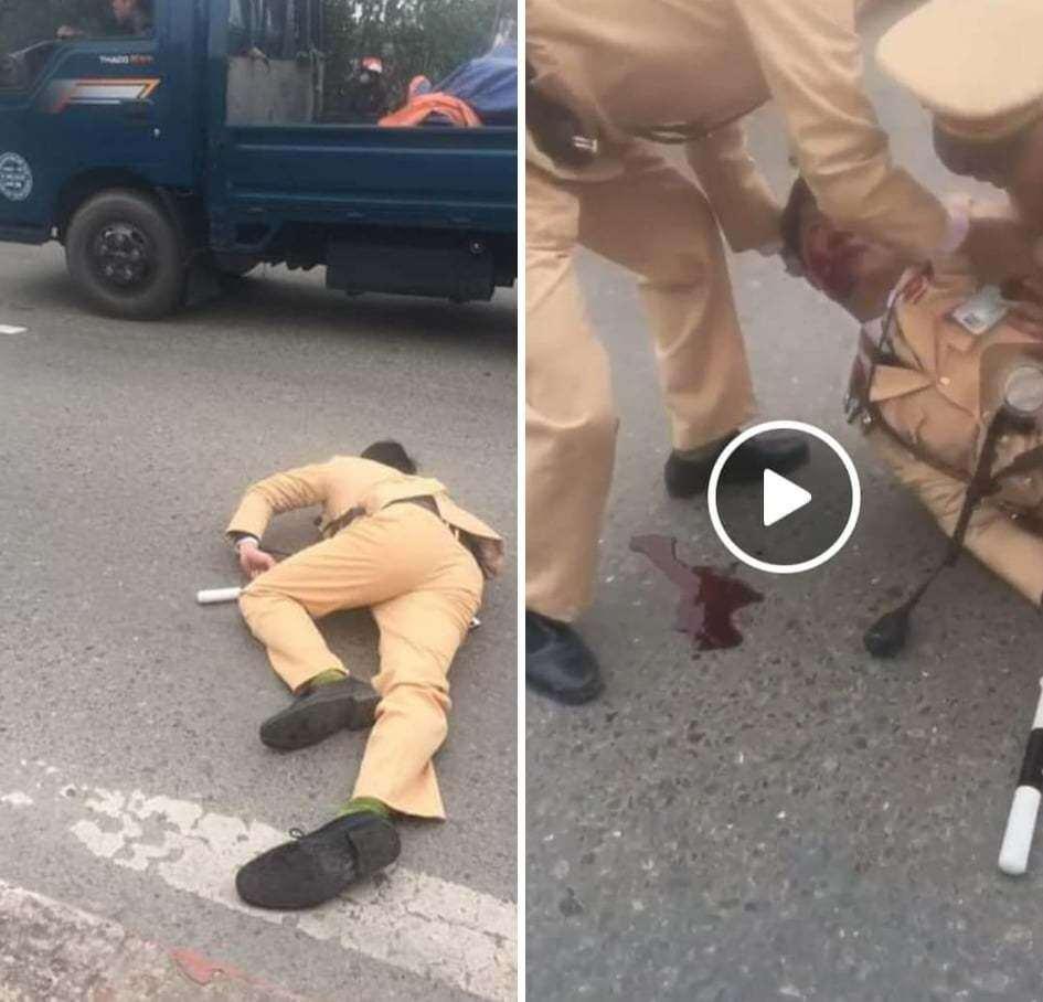 Tai nạn giao thông ngày 21/2: Đấu đầu xe tải, 2 nam thanh niên thương vong  2