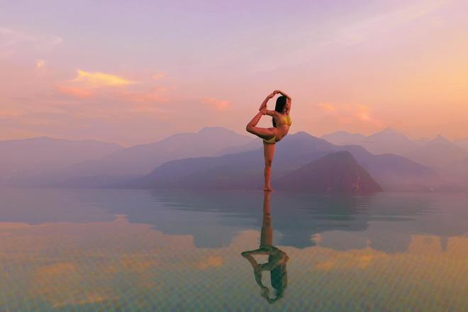 Cô gái Việt gây sốt với bộ ảnh tập yoga vòng quanh thế giới tuyệt đẹp 4