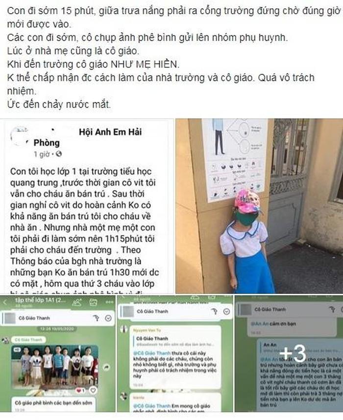 Hải Phòng xác minh clip 'dàn cảnh' vụ học sinh đứng ngoài cổng trường 2