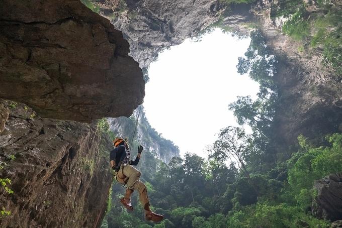 Thực hư phát hiện 'chấn động' về hố sụt Kong huyền bí ở Phong Nha 1
