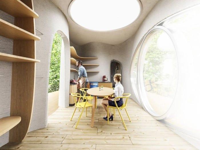 Sắp ra mắt nhà nổi in 3D hoàn thành trong 48 giờ, độ bền 1 thế kỷ 3