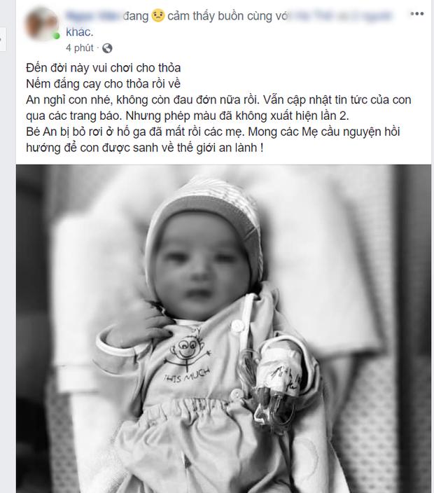 Bé trai bị bỏ rơi ở hố ga: Dân mạng nghẹn ngào, làm thơ tiễn đưa 'chàng trai kiên cường' 5