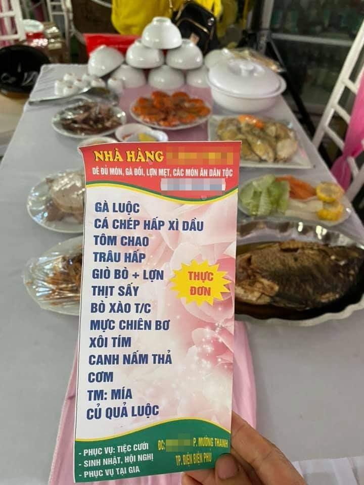 Vụ nhà hàng ở Điện Biên bị 'bom' 150 mâm cỗ cưới: Thêm tiết lộ sốc về cô dâu 2