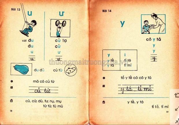 Cả bầu trời tuổi thơ thế hệ 8x, 9x ùa về khi thấy những trang SGK Tiếng Việt 30 năm trước 3