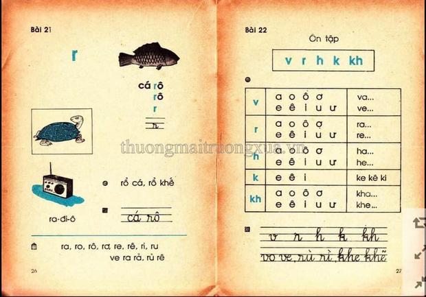 Cả bầu trời tuổi thơ thế hệ 8x, 9x ùa về khi thấy những trang SGK Tiếng Việt 30 năm trước 5