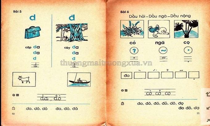 Cả bầu trời tuổi thơ thế hệ 8x, 9x ùa về khi thấy những trang SGK Tiếng Việt 30 năm trước 7