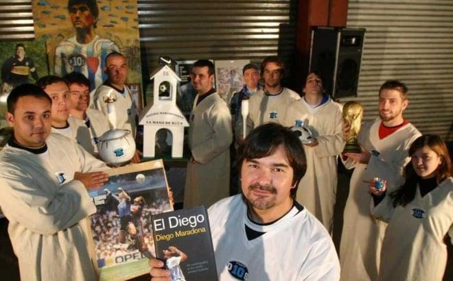 'Tôn giáo Maradona' với hàng trăm nghìn tín đồ, được lập hẳn nhà thờ ở nhiều nơi 1