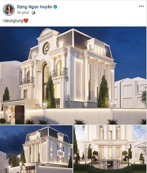 با حضور در سال جدید ، Huyen Baby از یک عمارت جدید مانند کاخ 3 رونمایی کرده است