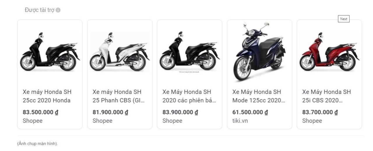 Honda SH bất ngờ giảm giá gần 14 triệu đồng dịp Black Friday 2