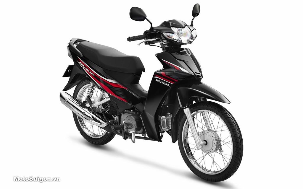Honda Blade 110cc trình làng với phiên bản màu cùng tem mới, giá cực mềm 4