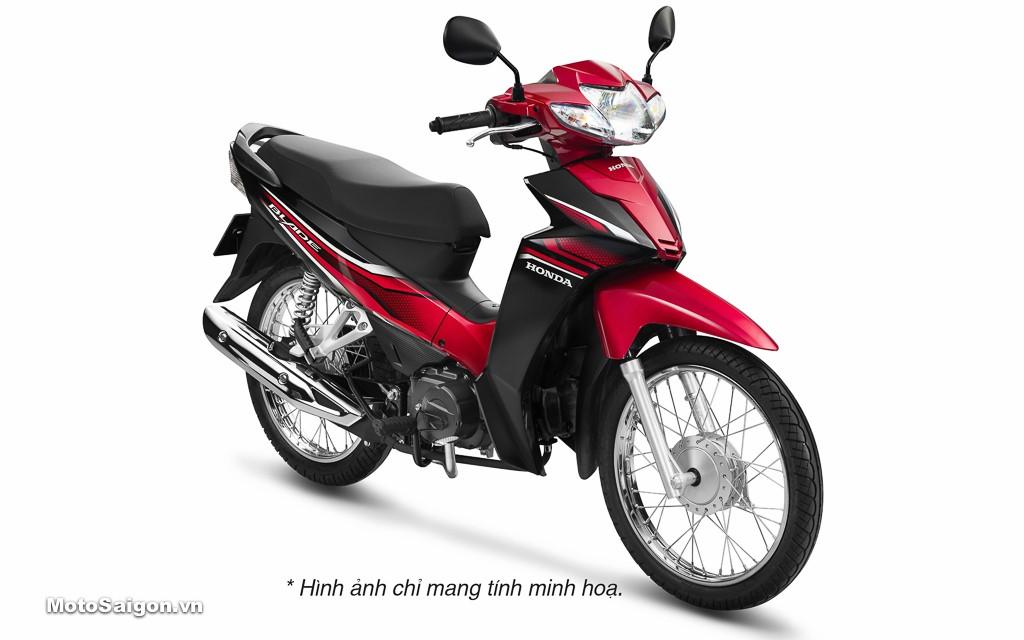 Honda Blade 110cc trình làng với phiên bản màu cùng tem mới, giá cực mềm 1
