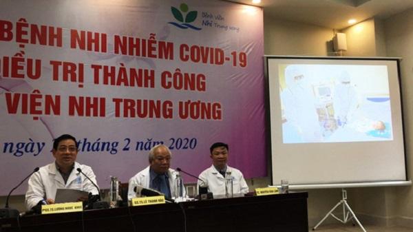 Bệnh nhi nhỏ tuổi nhất nhiễm Covid-19 ở Việt Nam được xuất viện 1