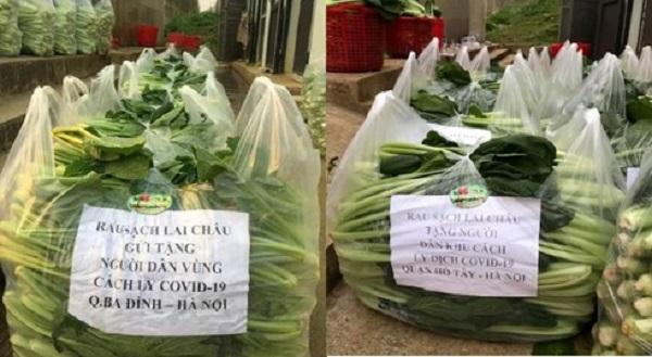 Ấm lòng câu chuyện Lai Châu gửi rau tiếp tế cho khu cách ly ở Hà Nội  1
