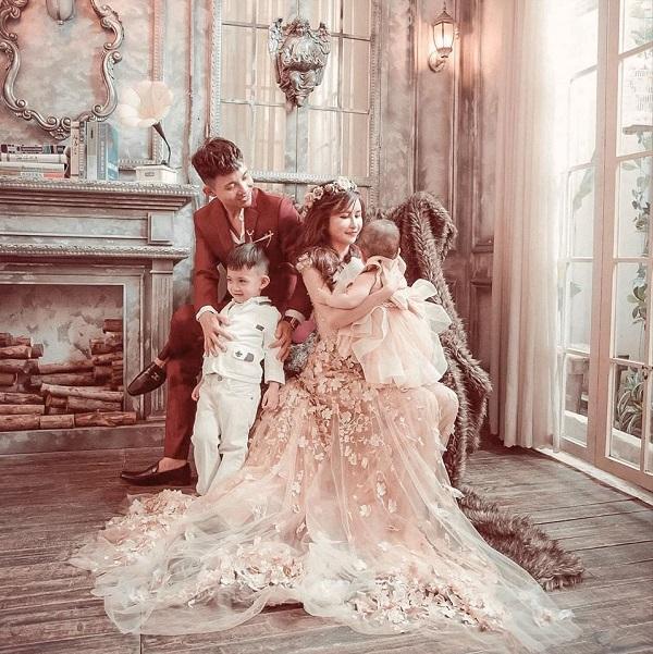 Đại gia Minh Nhựa tung bộ ảnh cưới đặc biệt hậu lên chức ông ngoại 4
